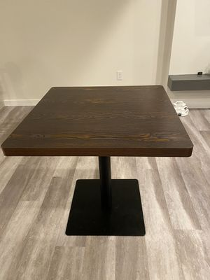 Dining table work table 30x30 for Sale in Lynnwood, WA