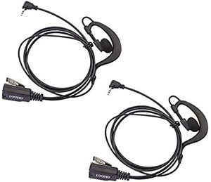 Lot 2 x Coodio G-Shape Earpiece Police Security Headset for Sale in Fresno, CA