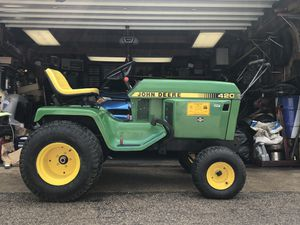 John Deere 420 tractor for Sale in Chicago, IL