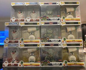 """Funko Pop! 10"""" Funko Pops Mega Size Olaf 603 Star Wars D-0 336 Green Goblin 408 for Sale in Wesley Chapel, FL"""