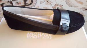 Brand new Michael Kors black sued women's shoes size 5 women's shoes for Sale in Lynnwood, WA