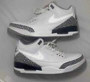"air jordan 3 retro JTH NRG ""white cement"" sz 12.5 slightly used for Sale in Columbus, OH"