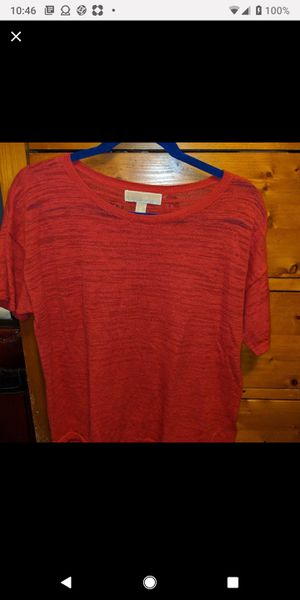 Michael kors red sweater medium for Sale in Baltimore, MD