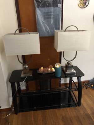 SET TWO LAMPS for Sale in Pittsburgh, PA