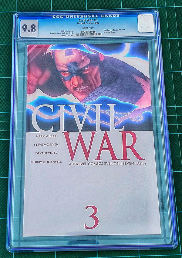 Marvel Civil War Complete Comic Set