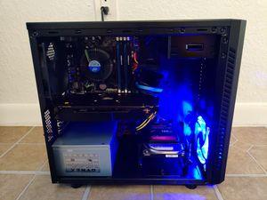 GAMING COMPUTER INTEL CORE I5 QUADCORE 3.20GHZ, 8GB RAM, 128GB SSD+500GB, AMD RADEON RX570 for Sale in Miami, FL
