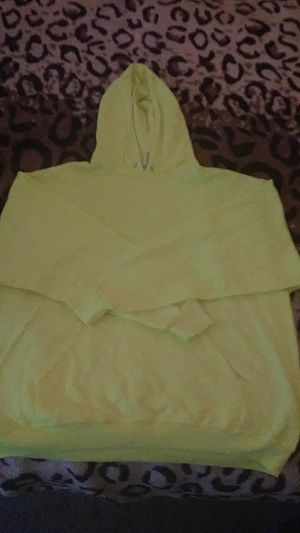 Fluorescent yellow pullover hoodie for Sale in Long Beach, CA