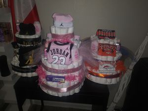 Custom diaper cakes for Sale in Denver, CO