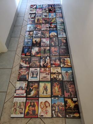 LOT OF 60 DVD'S FOR $50. for Sale in Scottsdale, AZ