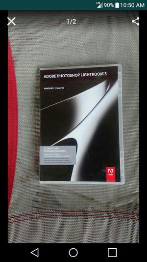 Adobe Photoshop Lightroom 3 for Mac for Sale in Nashville, TN