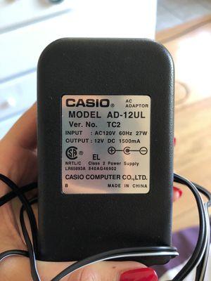 CASIO KEYBOARD PLUG IN for Sale in Oakland, CA
