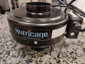 """Hurricane 4"""" Inline Fan 171 CFM for Sale in Oakland, CA"""