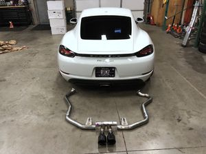 Porsche 718 cayman parts: awe exhaust, Cobb accessport and more for Sale in Scottsdale, AZ