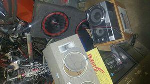 Stereo equipment speakers for Sale in Port St. Lucie, FL