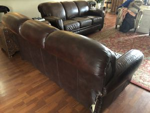 Two leather sofas for Sale in US