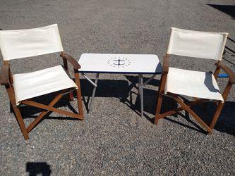 2 short directors chairs for Sale in Auburn,  WA