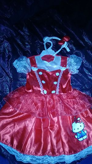 Hello Kitty Costume (2t-3t) for Sale in Huntington Park, CA