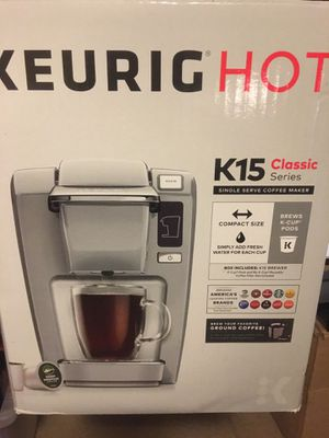Keurig K15 Classic Single Brewer for Sale in Gaithersburg, MD