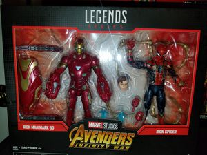 Marvel legends infinity war iron spider iron man for Sale in Bensenville, IL