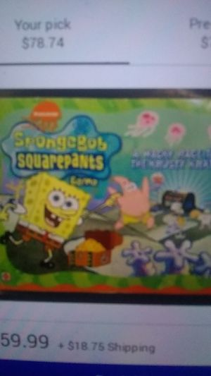 Sponge Bob square pants board game,all there,other sites at $59, It'll ship. for Sale in Brown City, MI