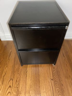 Elegant 2 drawers office file chest 20 1/4 W, 27.5 H, 24 Deep for Sale in Palatine, IL