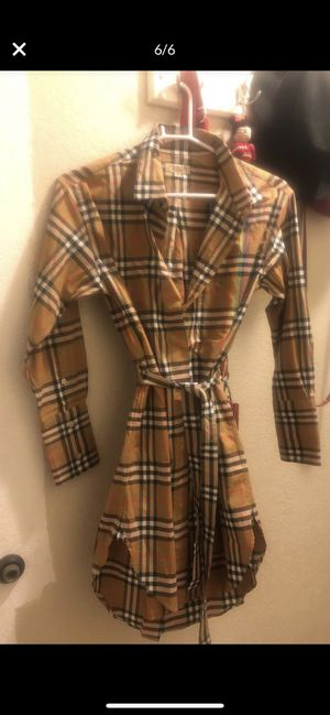 Burberry dress shirt women for Sale in Escondido, CA