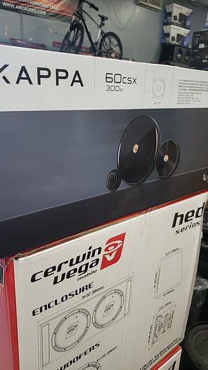 Infinity kappa 6.5 inch component speakers for Sale in Chula Vista, CA