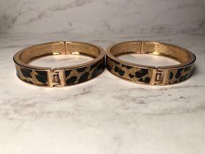 Gold & Leopard Print Bracelets for Sale in Atlanta, GA