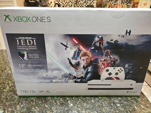 X BOX ONE S, JEDI DELUXE EDITION + X BOX GAME PASS for Sale in Phoenix, AZ