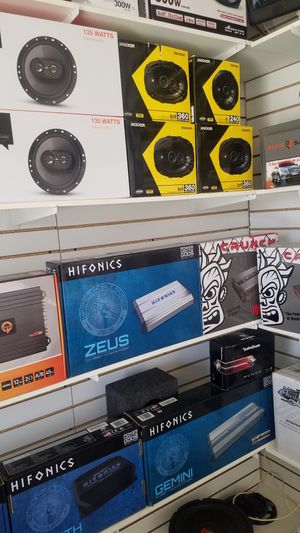 Car stereo system on payments for Sale in Fontana, CA