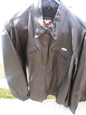 Harley Davidson Womens XL leather jacket for Sale in Allen Park, MI
