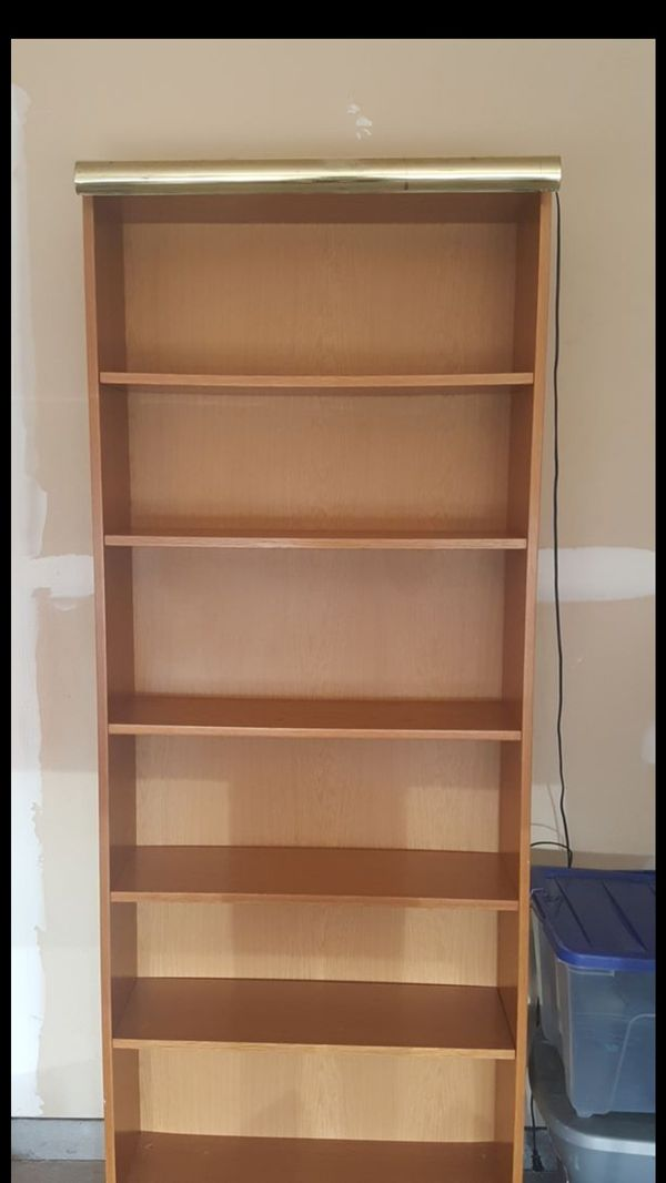 Books shelf/ cabinet with light