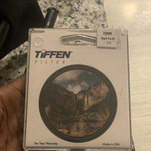 Tiffen Black Pro mist 1/2 for Sale in Washington, DC