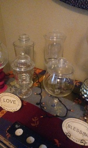 Custom candy jars/Apothecary jars for Sale in Fort Smith, AR