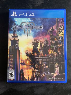 Kingdom Hearts 3 (PS4) for Sale in Columbia, MD