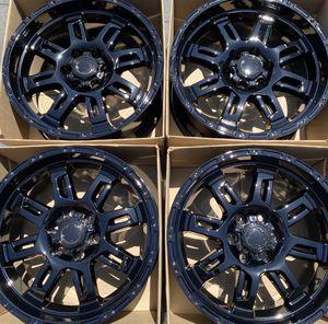 "20"" TRD wheels rims gloss black for Sale in Costa Mesa, CA"