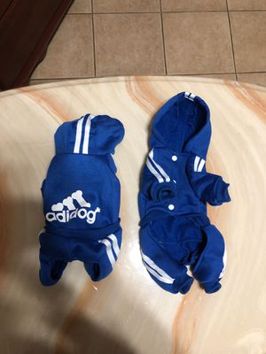 ADIDOG Tracksuit for SMALL dogs/puppies for Sale in Ceres, CA