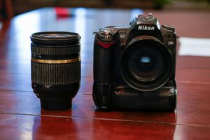 Nikon D90 with two lens for Sale in Wasco, CA