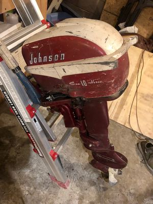 1958 Johnson Sea Horse 10 HP Motor for Sale in UPPR CHICHSTR, PA