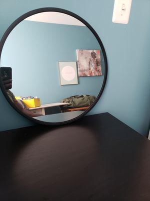 24 Inch Circle Wall Mirror for Sale in Woodbridge, VA