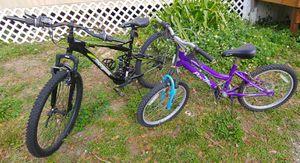 """20"""" girl & 26"""" guy bikes for Sale in Tampa, FL"""