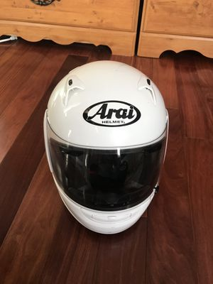 Arai motorcycle helmet for Sale in Annandale, VA