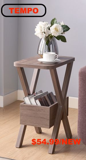 End Table, Hazelnut for Sale in Fountain Valley, CA