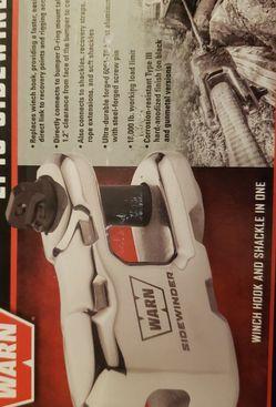 WARN Winch Accessory: Epic Sidewinder, Black for Sale in Tacoma,  WA