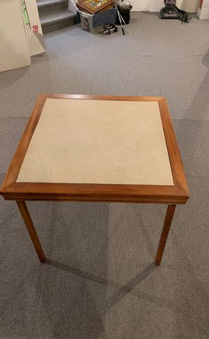 Antique wood folding table for Sale in Detroit, MI