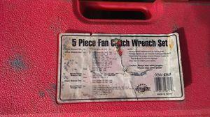 OEM 5 piece fan clutch wrench set for Sale in Haines City, FL