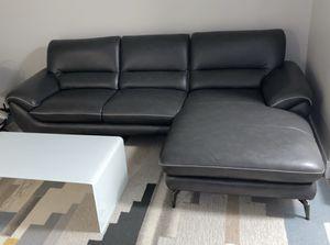 Grey sofa w/ chaise for Sale in Lakewood, WA
