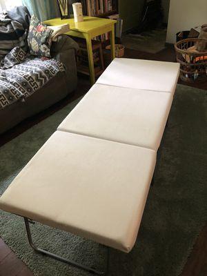 Foam cot/ ottoman for Sale in Monroe, WA