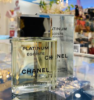 PLATINUM EGOISTE CHANEL POUR HOMME EDT 3.4oz. FOR MENS for Sale in East Los Angeles, CA