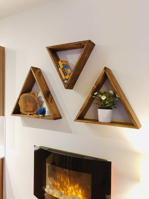 Triangle Shelves | Handmade for Sale in Seattle, WA